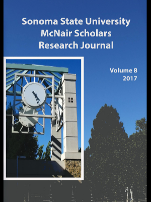 Image of the SSU McNair Scholars Research Journal, Volume 8, front cover