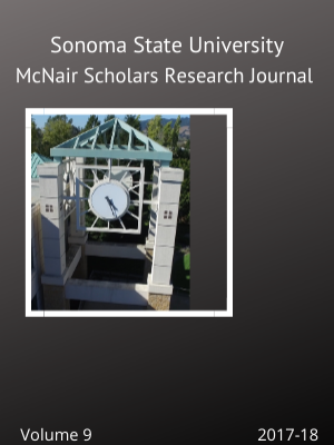 Image of SSU McNair Scholars Research Journal, Volume 9, front cover